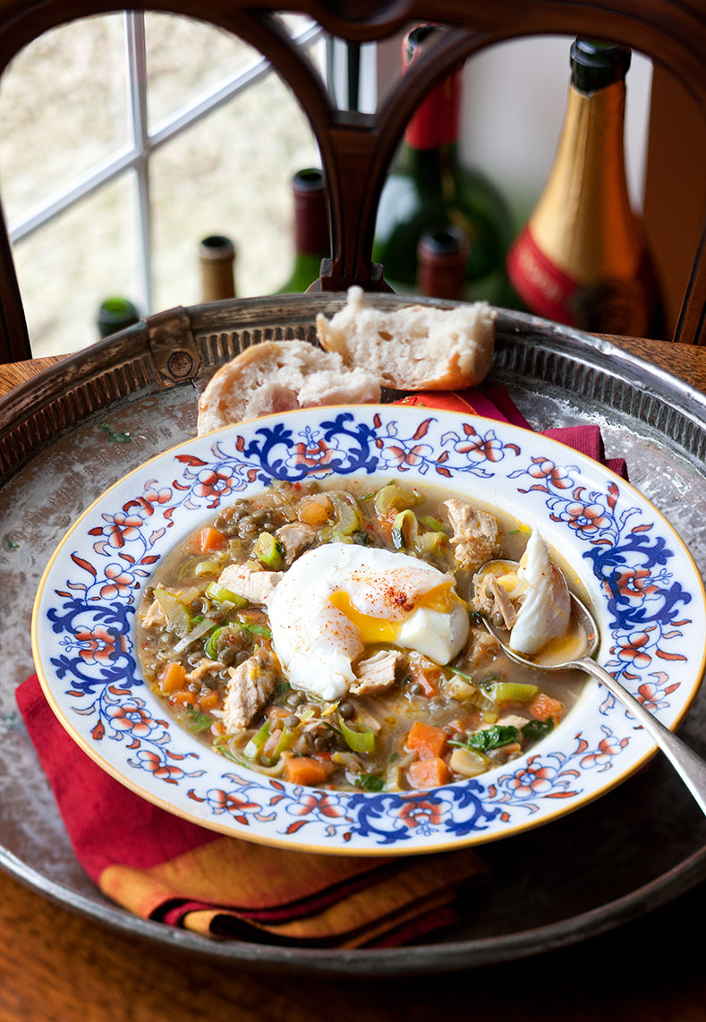 Winter-Turkey,-Vegetable-and-Lentil-Broth-with-Poached-Egg-edited